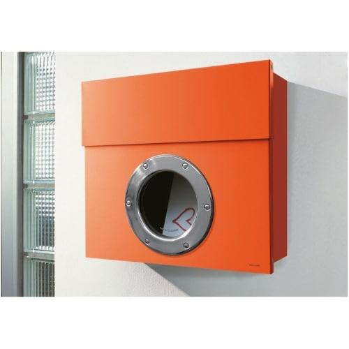 Radius Design Lettermann 1 -postilaatikko, oranssi