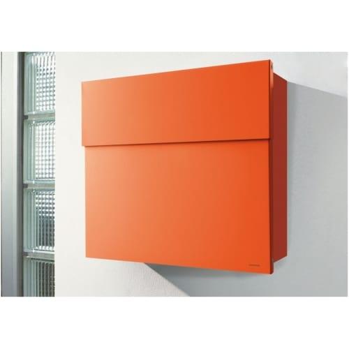 Radius Design Letterman 4 -postilaatikko, oranssi
